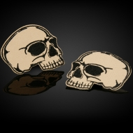Double Skull Patches